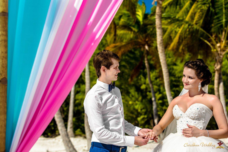 Caribbean Wedding: Symbolic Wedding Ceremony In Dominican Republic, Cap Cana