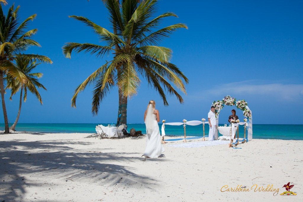 Caribbean Wedding: Wedding In Dominican Republic, Cap Cana. Anna And Evgeny