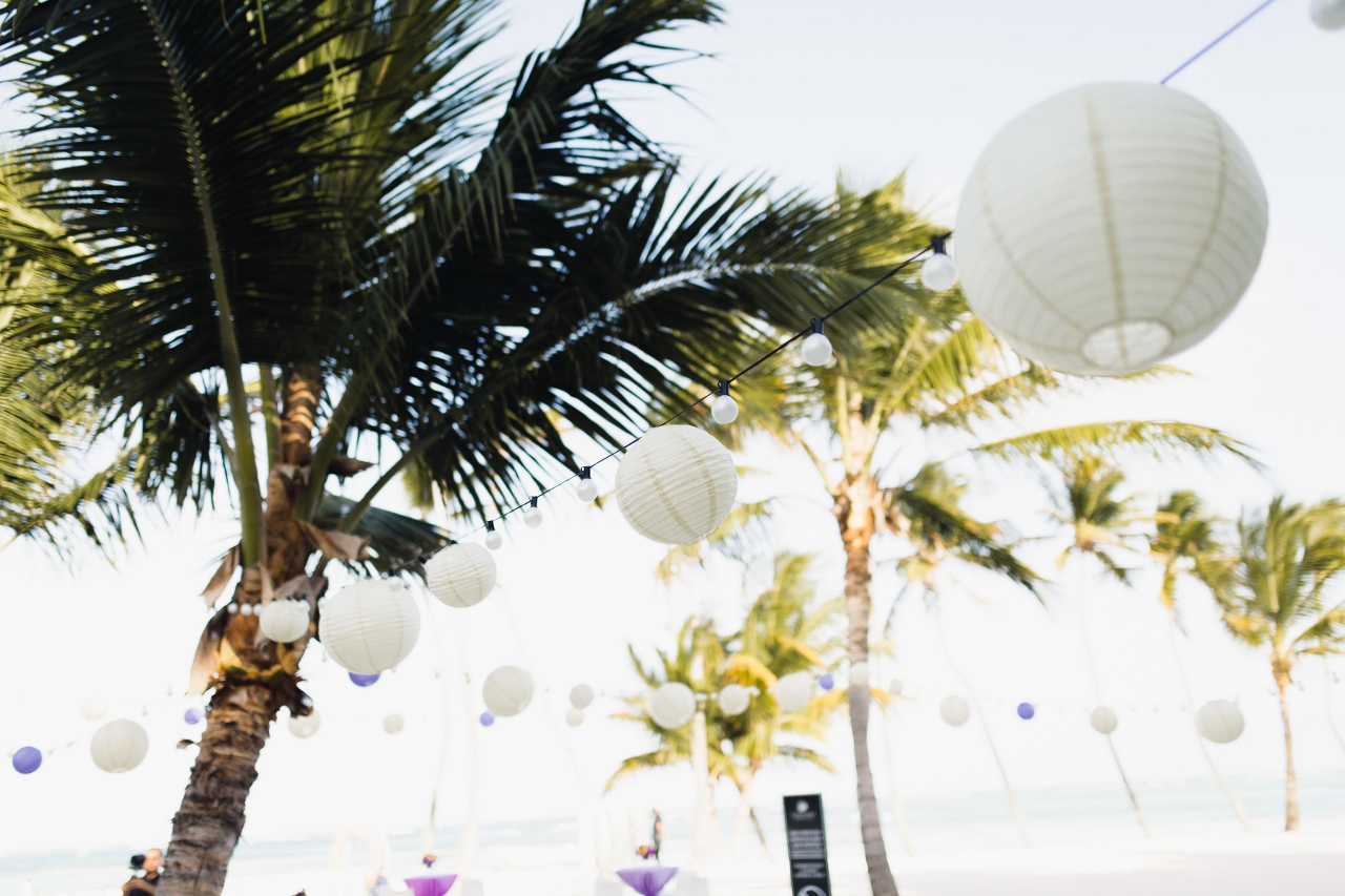 A magical wedding with 80 guests at the Playa Blanca restaurant in ...
