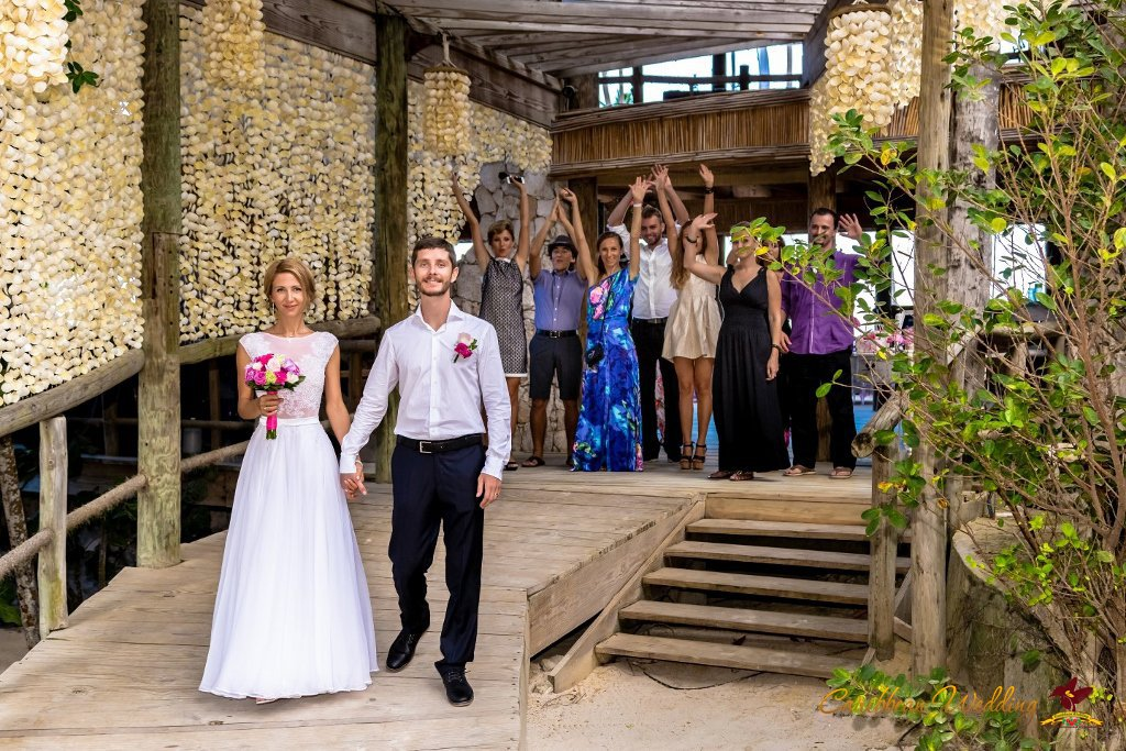 Caribbean Catering Beach Weddings: Frank Sinatra Style Wedding At Beach Restaurant {Alexander