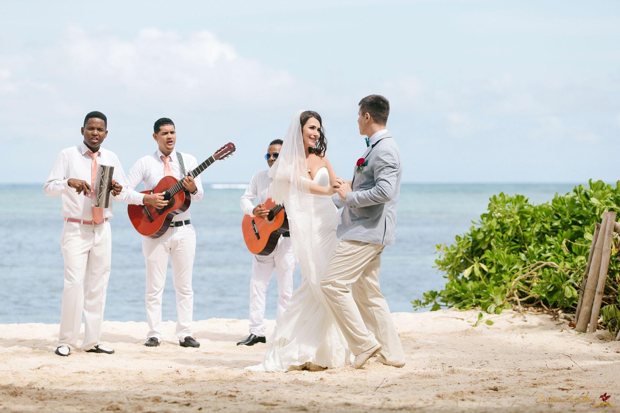Caribbean Wedding: VIP Ceremony On Colibri Beach. Weddings In The Dominican