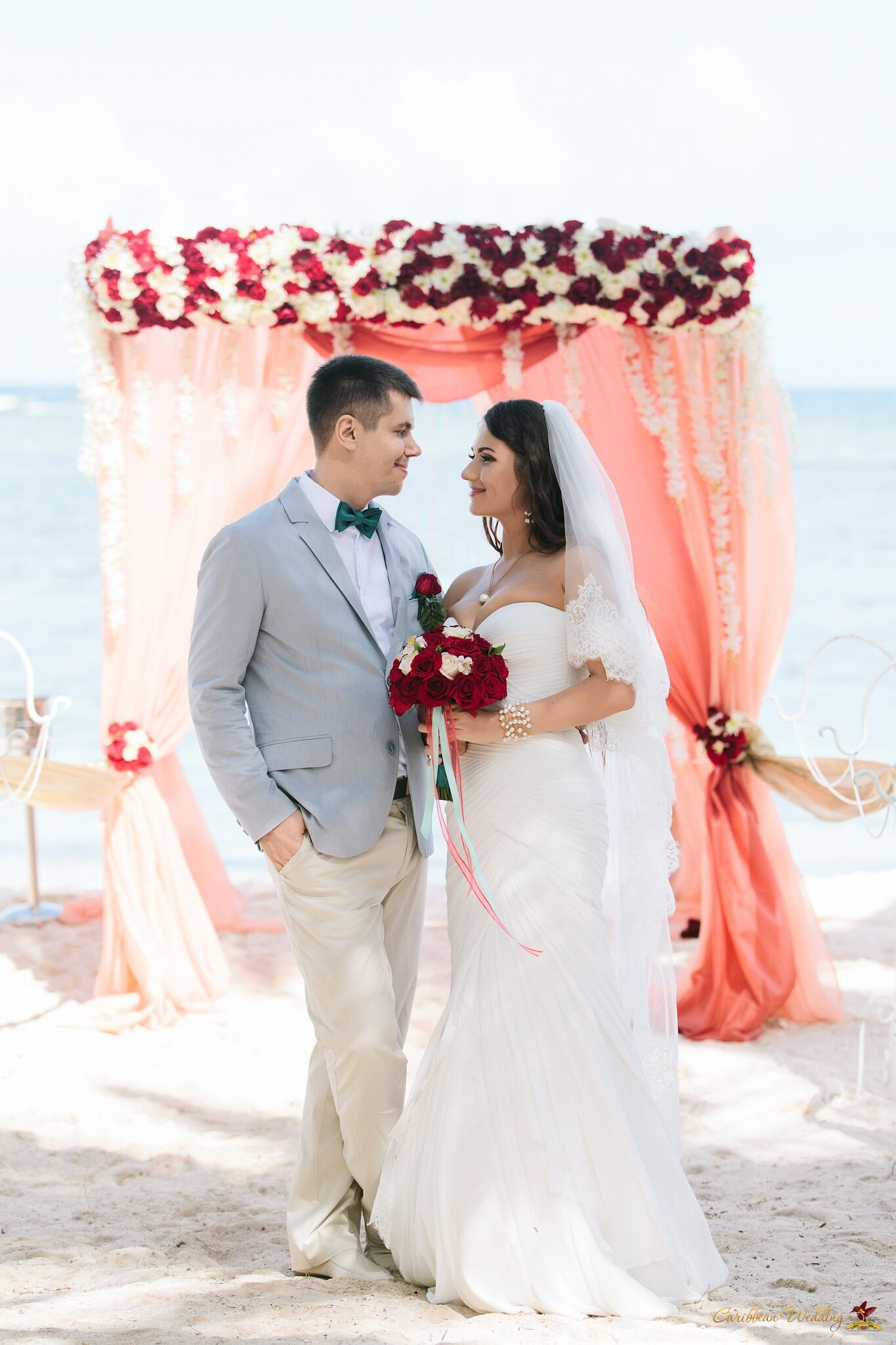 Vip ceremony on colibri beach weddings in the dominican for Weddings in the carribean