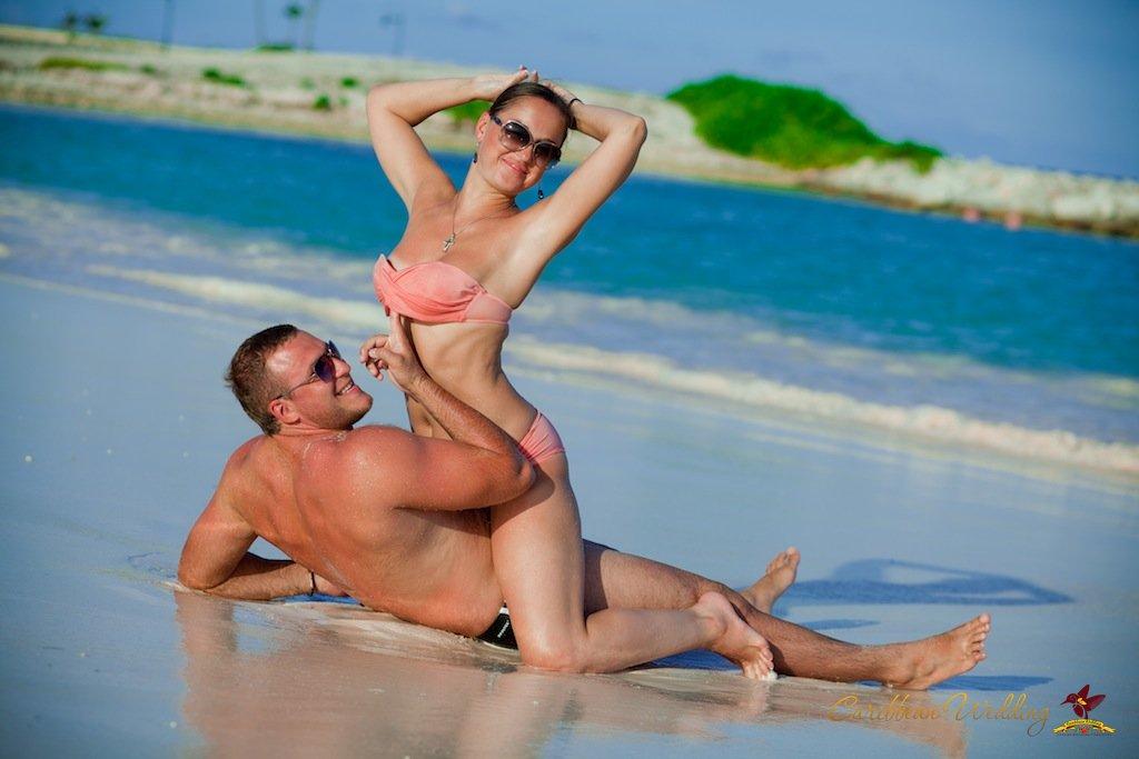 На пляже принято заниматься сексом