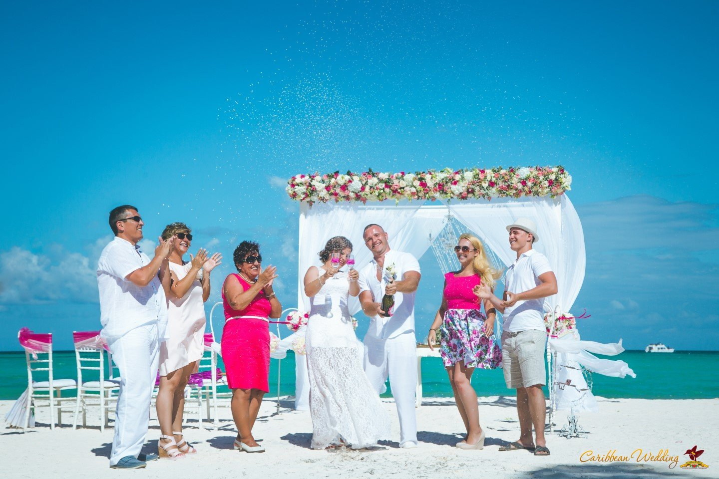 Wedding in dominican republic on juanillo beach cap cana for Weddings in the carribean