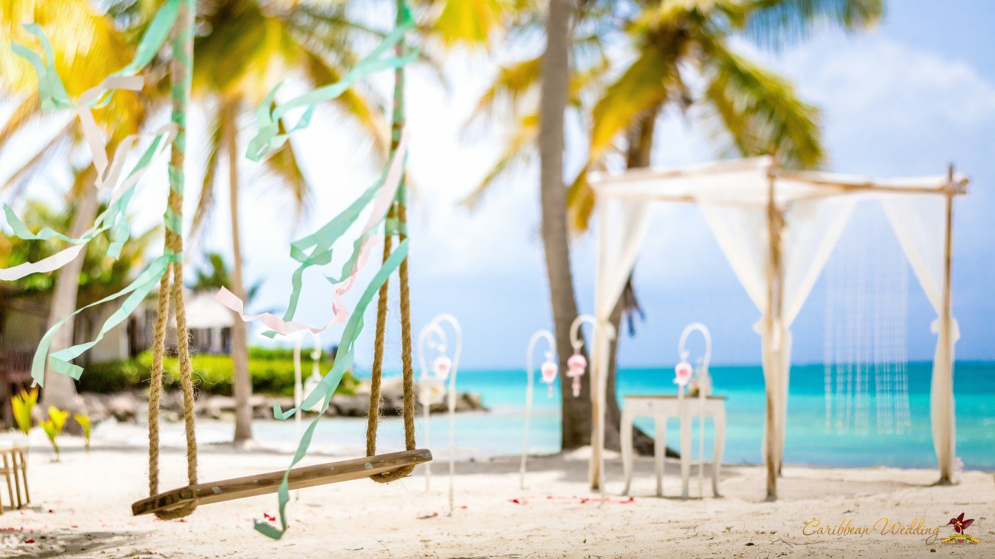 Shabby Chic Wedding Style In Dominican Republic Cap Cana Beach