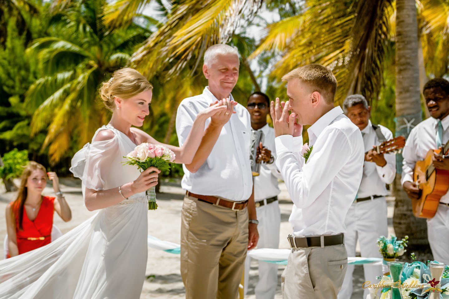 Tiffany wedding style in dominican republic cap cana for Weddings in the carribean