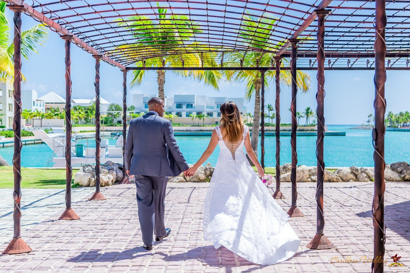 Church wedding in the dominican republic jennifer issac for Weddings in the carribean