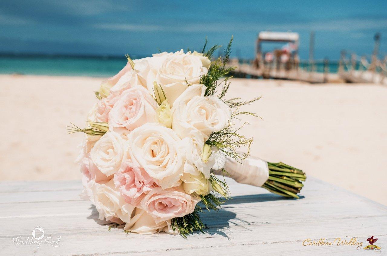 Caribbean Catering Beach Weddings: Wedding In Punta Cana. Beach Restaurant.