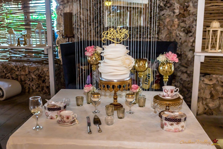 Caribbean Catering Beach Weddings: Wedding On Beach Restaurant Huracan {Yevgeniy And Alya}