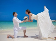 Wedding in Dominican Republic, Cap Cana beach. Elya and Stas