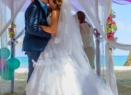 Official wedding in Dominican Republic, Cap Cana. Nadia and Denis