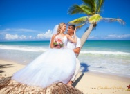Wedding in Dominican Republic, Macao beach. Olesya and Alexander.