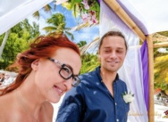 Official wedding in the Dominican Republic, Cap Cana. Anna and Martin
