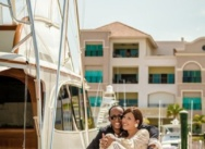 Love story photosession in  Marina, Cap Cana. Ruth and Raul