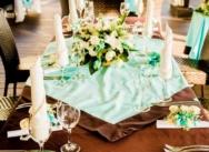 Tiffany Wedding Style in Dominican Republic, Cap Cana Beach