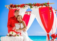 "Civil Wedding Ceremony ""Ocean of Love"" in Cap Cana Beach, Dominican Republic {Denis+Olesya}"