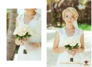 Tiffany style wedding in the Dominican Republic {Alex+Olesya}
