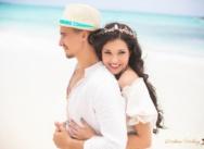 Artem & Julia's fairy tale wedding ceremony in the Dominican Republic