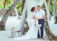 Sergey and Anastasia's Island Saona Wedding in the Dominican Republic