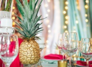 Tropical wedding in Dominican Republic at the beach restaurant, 60 guests. {Catherine and Andrew}