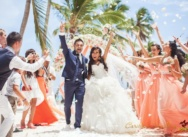 Wedding in Dominican Republic, Cap Cana beach and trimaran party {Georgiy and Eugenia}