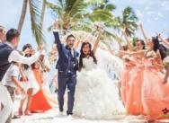 Wedding in Dominican Republic, Cap Cana beach and trimaran party {Georgiy and Eugenia}
