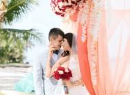 VIP ceremony on Colibri beach. Weddings in the Dominican Republic {Stanislav and Elena}