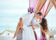 Gatsby style wedding on the island Saona, Dominican Republic {Maxim and Catherine}