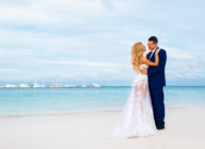 Wedding in Tracadero beach club, Dominican Republic