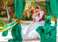 Official wedding in the Dominican Republic on Colibri beach {Daria and Dmitry}