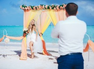 Wedding on Juanillo beach in Dominican Republic {Nicholas and Maria}