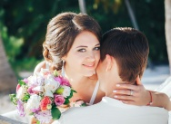 Beautiful wedding in vintage style {Maxim and Christina}