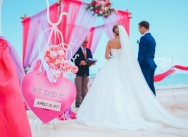 Official wedding on the Juanillo beach, Dominican Republic {David and Martina}