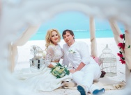 Wedding on the Juanillo beach in Dominican Republic {Alla and Artem}