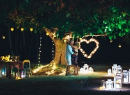 The midnight wedding proposal in the Dominican Republic! {John and Cheryl}
