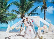 Tender wedding in pastel shades in Dominican Republic {Ksenia and Alexander}