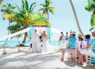 Wedding on Saona island and a trip on the catamaran {Viktoria and Alexander}