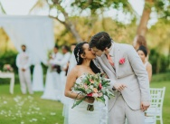 Wedding in the Dominican Republic on a private villa Arrecife in Punta Cana {Jackie and Grant}
