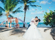 Wedding in the Dominican Republic on the Caribbean beach {Irina and Stepan}
