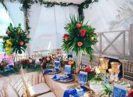 Catholic wedding in Nuestra Señora Punta Cana church and reception in La Mona Restaurant {Kim and Carlos}