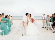 Wedding at La Palapa Juanillo Beach Restaurant, Cap Cana, Punta Cana, Dominican Republic {Zhenya and Danny}