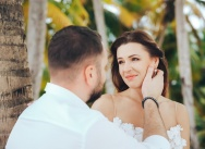 Wedding on Saona island in the Dominican Republic