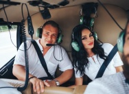 Helicopter romantic beach proposal on our own private beach {Roman and Arbesa}