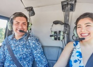 Helicopter proposal in The Dominican Republic {Pablo and Gabriella}